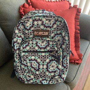 Trans by Jansport Print Backpack New